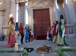 Mercat Medieval 2010: Dansaires de  St.Miquel, dansa medieval de Vic
