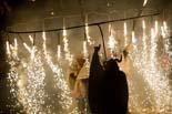 Mercat Medieval 2010: cloenda «En contra del foc. Foc! Bruixes! I cabrons!»