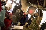 Mercat Medieval 2010: exposició d'armadures «L'arnès del cavaller»