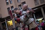 Mercat Medieval 2011: Drakonia, lluites d'exhibició