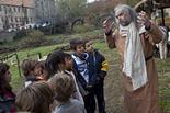 Mercat Medieval 2011: les escoles visiten el Mercadal V.O.