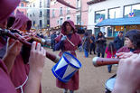 Mercat Medieval 2012: ambient dijous 6 de desembre
