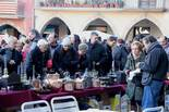 Mercat Medieval 2012: brocanters a la plaça Major