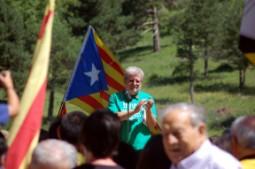 Pi de les Tres Branques 2014 El professor mallorqui Jaume Sastre que va fer una vaga de fam per la llengua durant 40 dies explica la seva experiència al Pi