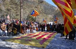 Acte d'homenatge a Lluís Ballús al Pi de les Tres Branques