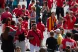 Imatges de la Colla Joves Xiquets de Valls a Londres pels 'Catalans Want to Vote'