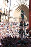 La Mercè i els pilars caminats a Tarragona