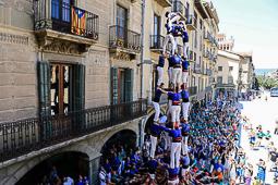 Trobada Castellera de la Festa Major de Vic