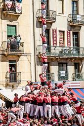 Diada castellera del Primer Diumenge de les Festes de Santa Tecla