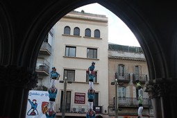 XXXVII Diada dels Castellers de Terrassa XXXVII Diada de la Colla dels Castellers de Terrassa.Foto de Joaquim Albalate