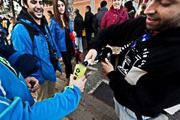 Les fotografies del 9-N Votants a Girona. Foto: Carles Palacio