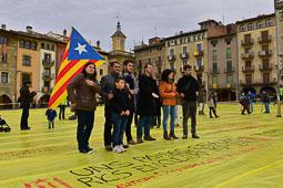 Les fotografies del 9-N Foto Josep M. Montaner
