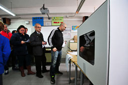 Les fotografies del 9-N Cues per votar a Reus. Foto: Laia Solanellas