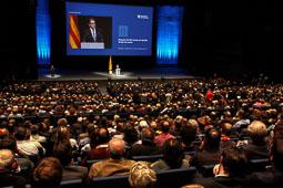Conferència d'Artur Mas «Després del 9-N: temps de decidir, temps de sumar»