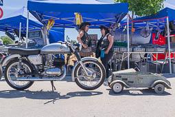 Llotja de l'Automòbil i la Moto Antiga a Sils, 2015