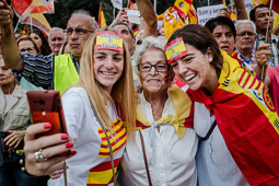 12-O: manifestació de la Hispanitat a Barcelona