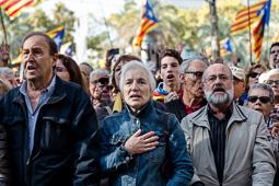 Imputats 9-N: declaració d'Artur Mas i concentració de suport