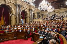 Constitució de l'XI legislatura del Parlament de Catalunya