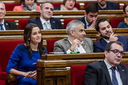 Debat d'investidura al Parlament de Catalunya