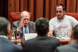 Compareixença de la família Pujol Ferrusola a la </br>comissió sobre frau fiscal