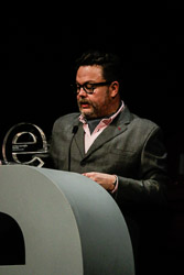 Premis Enderrock 2015 Miqui Puig, guardonat amb el premi Enderrock a Millor producció