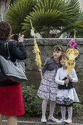 Les millors fotos de la setmana de Nació Digital </br> (especial Setmana Santa) Diumenge de Rams a Manlleu. </br> Foto: Adrià Costa