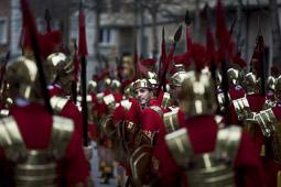 Les millors fotos de la setmana de Nació Digital </br> (especial Setmana Santa) 75è aniversari dels Manaies de Girona. </br> Foto: Cales Palacio