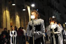 Les millors fotos de la setmana de Nació Digital </br> (especial Setmana Santa) Processó del Prendiment de Reus. </br> Foto: Laia Solanellas