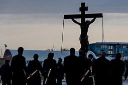 Les millors fotos de la setmana de Nació Digital </br> (especial Setmana Santa) Via Crucis de Prats de Lluçanès. </br> Foto: Adrià Costa