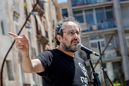 Municipals 2015: acte de Capgirem Barcelona al Forat de la Vergonya