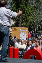 Municipals 2015: acte central d'ERC a Barcelona