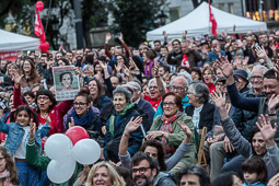 Municipals 2015: acte central de Barcelona en Comú