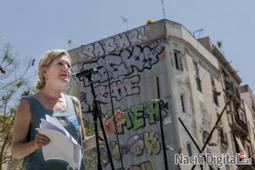 Municipals 2015 a Barcelona Acte de Capgirem Barcelona al Forat de la Vergonya.</br>Foto: Adrià Costa