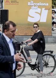 Municipals 2015 a Barcelona Acte d'ERC al Moll de la Fusta.</br>Foto: Adrià Costa
