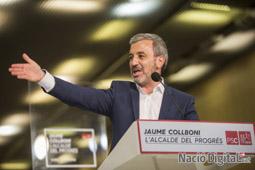 Municipals 2015 a Barcelona Acte central del PSC. </br>Foto: Jordi Borràs