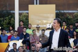 Municipals 2015 a Barcelona Acte final d'ERC .</br>Foto: Carles Palacio