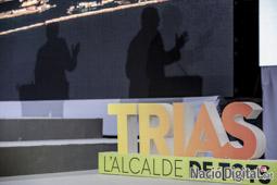 Municipals 2015 a Barcelona Acte final de la campanya de CIU.</br>Foto: Adrià Costa
