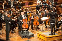Les millors fotos de la setmana de Nació Digital   Concert de l'Orquestra Simfònica del Vallès al Palau de la Música Catalana.</br>Foto: Juanma Peláez