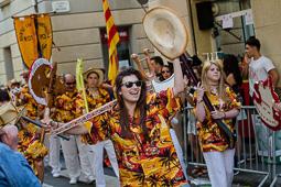 Les millors fotos de la setmana de Nació Digital   Festa dels Cors Muts a La Barceloneta.</br>Foto: Adrià Costa