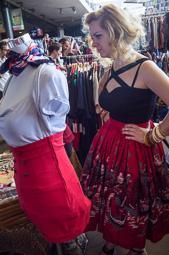 «Vintage in Barcelona» als Encants