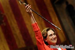 Ple de constitució de l'Ajuntament de Barcelona
