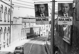 El vell àlbum d'imatges dels temps feliços de Convergència i Unió Cartells electorals de Convergència i Unió,  el 1992.