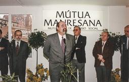 El vell àlbum d'imatges dels temps feliços de Convergència i Unió El conseller de Treball, Ignasi Farreras.