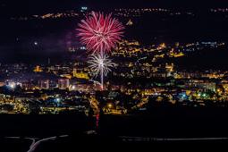 Les millors fotos de la setmana de Nació Digital   Castell de focs de la festa major de Vic. </br> Foto: José M. Gutiérrez