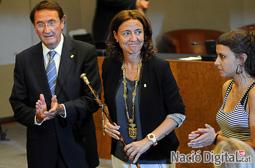 Les millors fotos de la setmana de Nació Digital   Mercè Conesa, nova presidenta de la Diputació de Barcelona </br> Foto: Iván Giménez