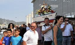 Les millors fotos de la setmana de Nació Digital   Processó marítima del Carme a la Ràpita.</br> Foto: Sílvia Berbís