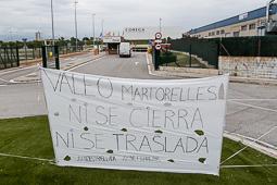 Acampada dels treballadors de Valeo a Martorelles