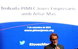 Trobada PIMEC Joves Empresaris amb Artur Mas