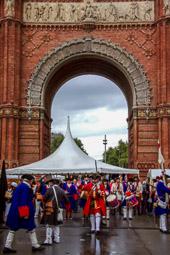 Diada Nacional 2015: desfilada de Miquelets