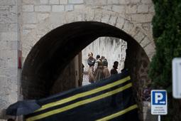 Rodatge de «Joc de Trons» a Girona